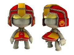 LittleBigPlanet - Wipeout Piranha render