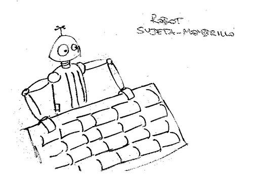 robot sujeta-membrillo