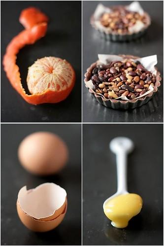Making Tangerine Creme Brulees