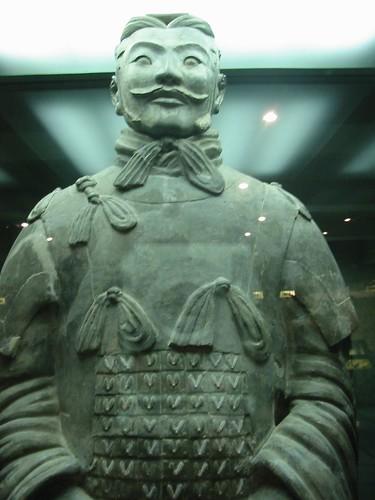 Fier als een terracotta gieter: de generaal