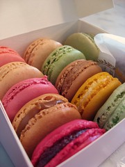 A dozen plus for the road... (Rene S. Suen) Tags: london coffee cookies rose dessert lemon berry cookie sweet chocolate treats salt harrods caramel pistachio pastry raspberry vanilla treat lime meringue hazelnut praline orangeblossom macaron renedinesout june2008 ladureharrods
