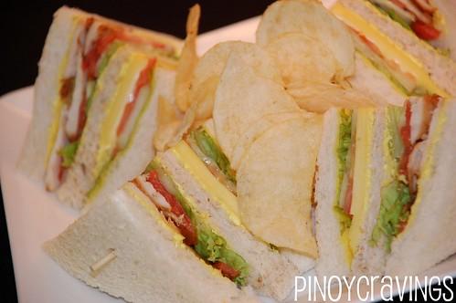 clubhouse sandwich  - Etihad