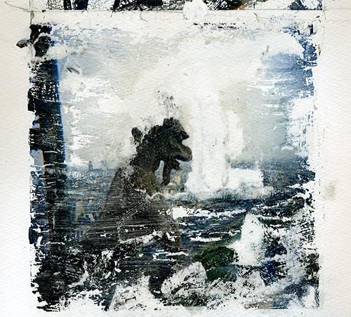Gargoyle  Atop of Paris