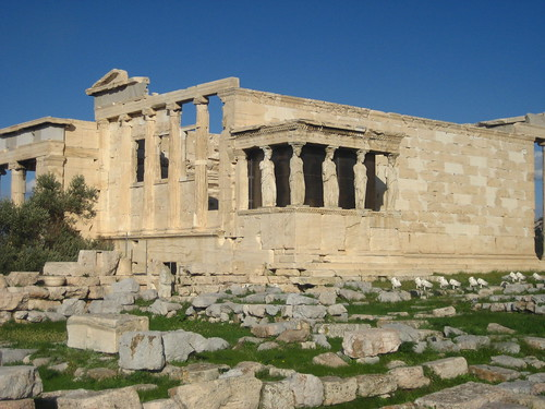 The Acropolis: Erechtheion