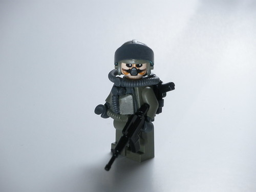 Tunguska Forest Camo custom minfig