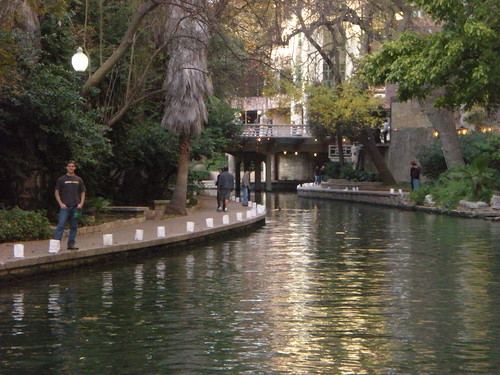 Dennis on the Riverwalk