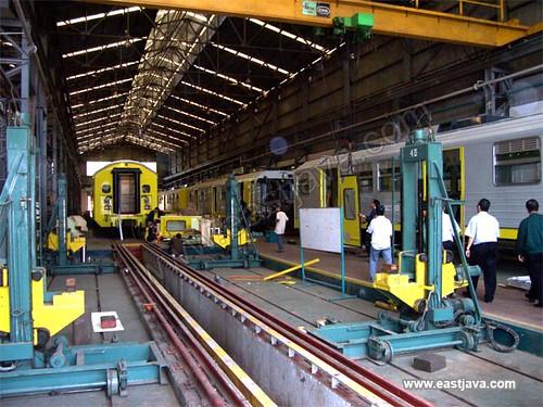 P.T INKA Train Industry - Madiun - East Java