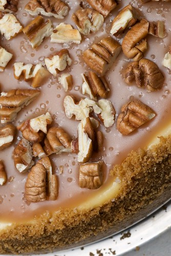 Pecan and Salted Caramel Cheesecake | Bake or Break