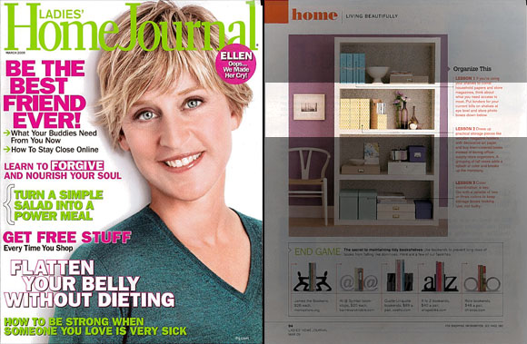 Smock gift wrap in the Ladies Home Journal