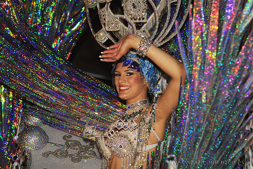 Tercera Dama de Honor Carnaval de Santa Cruz de Tenerife 2009.