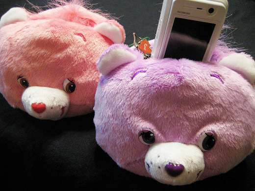 Care Bears cell phone stands