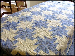 lindaquilt1 (Carla's Feathered Fibers) Tags: quilt quilting longarm machinequilting bedquilt longarmquilting longarmmachinequilting