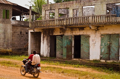 Blama Village II (unipus) Tags: africa abandoned architecture war sierraleone blama