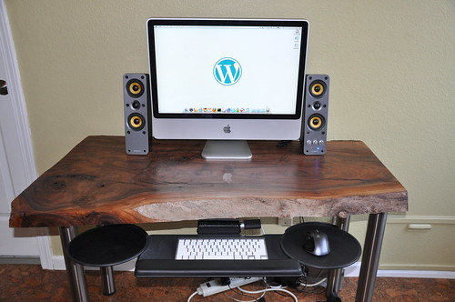 Walnut Slab Desk