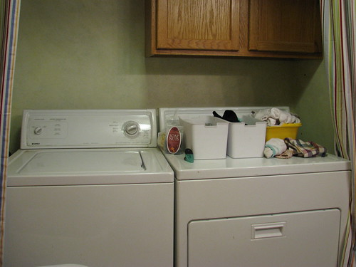 Clutter Diet Laundry Room/Bathroom