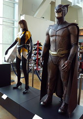 Watchmen movie costumes at Arclight Hollywood (jasoninhollywood) Tags: costumes comics films movies heroes superheroes watchmen niteowl patrickwilson arclighthollywood moviecostumes malinakerman silkspectre