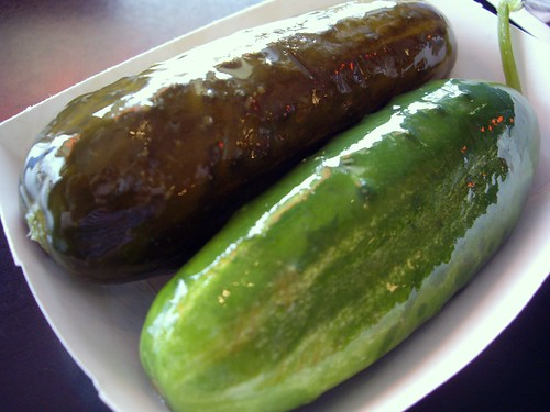 Dill and Garlic Pickle from Katzinger's