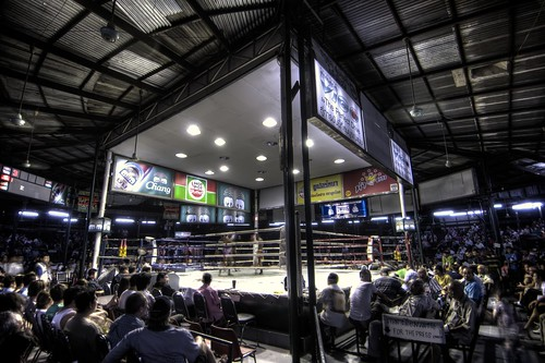 Inside Lumpinee Boxing Stadium