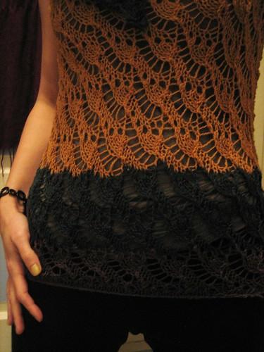 090414. pegboard lace tunic.
