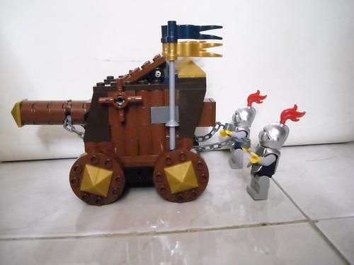 王冠士兵們的衝車- 城堡創作區- ...