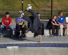 Skate handplant 2 (Rawbert A. Wagner) Tags: park concrete air vert ramps skaters skate skateboard skater sacramento jumps skateboarders rawbertawagner
