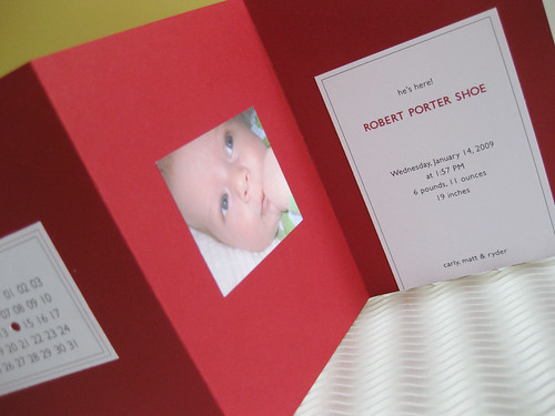 Porter's Birth Announcement