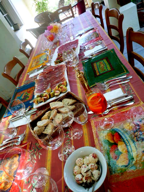 Easter Sunday table