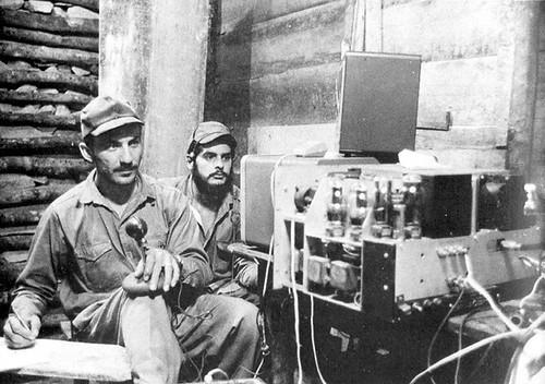 T48RR Radio Rebelde station 1958