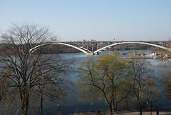 Vsterbron (west bridge) (Let Ideas Compete) Tags: bridge trees lake spring sweden stockholm spirit arches soul april essence scandinavia scandinavian malar mlaren vsterbron malaren sthm vasterbron stkhm soulofstockholm spiritofstockholm