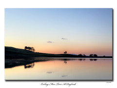 Embsay Moor Tarn At Daybreak (SteveMG) Tags: trees silhouette sunrise landscape dawn yorkshire smg tarn picturesque yorkshiredales embsay