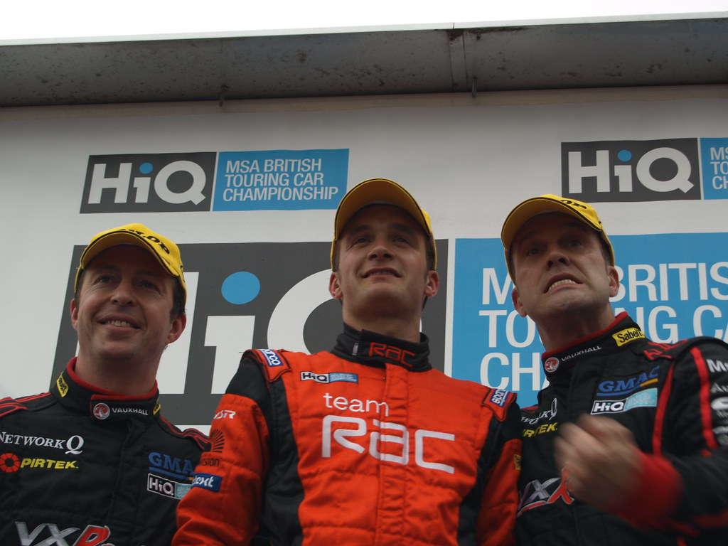 Matt Neal, Colin Turkington, Fabrizio Giovanardi