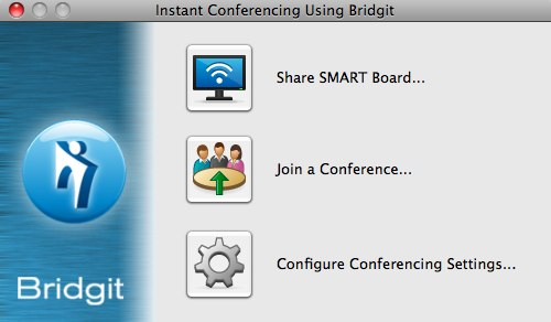 Instant Conferencing Using Bridgit