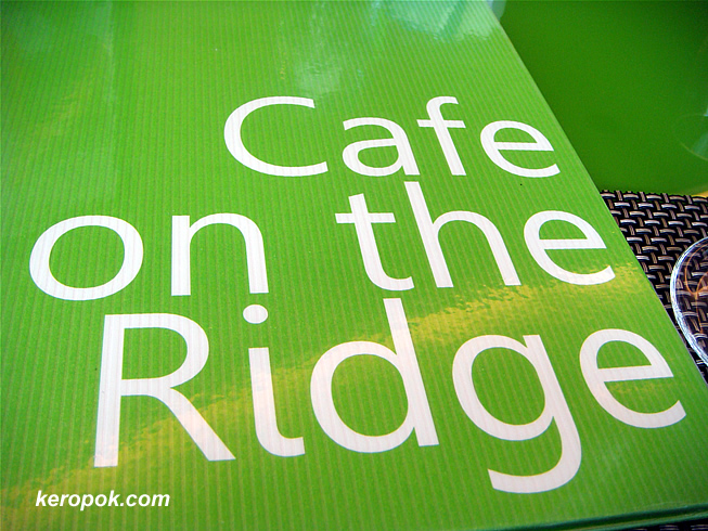 Cafe on the Ridge, NUSS Kent Ridge Guildhouse