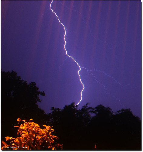 lightning shot picture