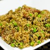 Quinoa with Chorizo & Peas