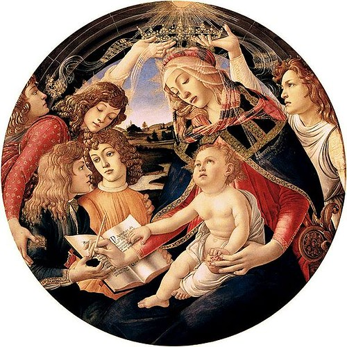 Magnificat Madonna by Sandro Botticelli