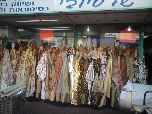 Fabric shop - Tel Aviv fabric district