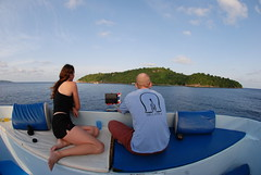 06. Carrie and I look out to the Similan Islands