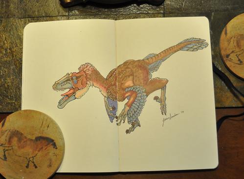 Marker Dromaeosaur