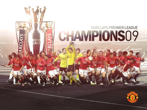 manchester united wallpaper 2009. Manchester United : BPL