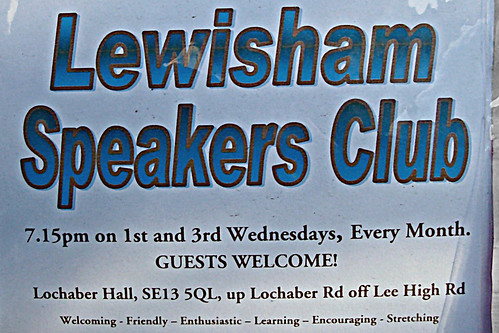 Lewisham Speakers Club