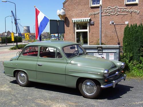 1959 model Skoda Octavia .