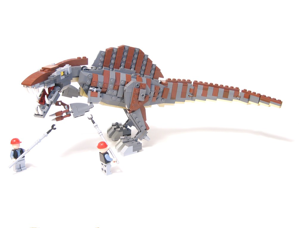 The world 39 s best photos of moc and spinosaurus flickr - Lego dinosaurs spinosaurus ...