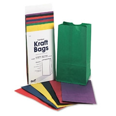 Rainbow-Bags-6-Uncoated-Kraft-Paper-6-x-3-5-8-x-11-Assorted-Bright-28-pack_114799