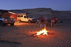 (638) Abends am Feuer (avalon20_(mac)) Tags: africa travel blue sky sahara nature geotagged desert egypt 500 misr eos40d schulzaktivreisen