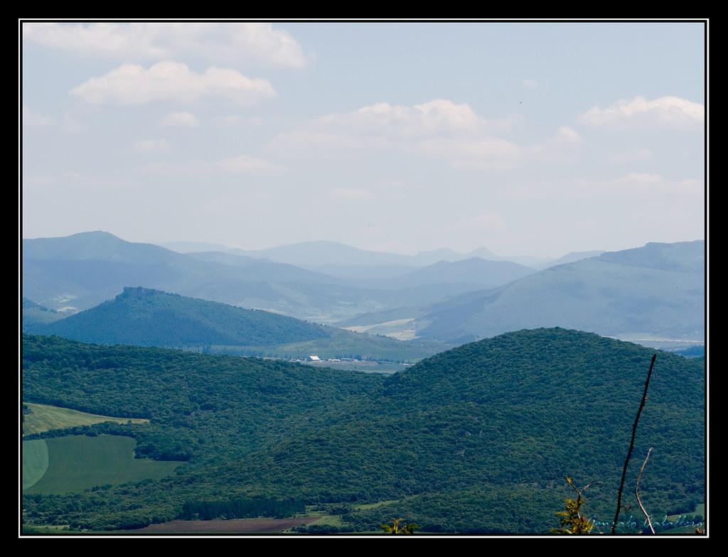 Sierras de Labia y Osa en la lejanía