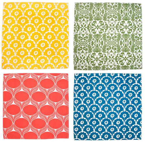 winter water factory napkins