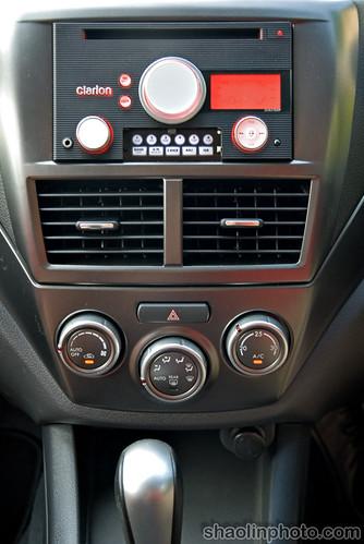 Subaru S-GT 2.0 Turbo Interior