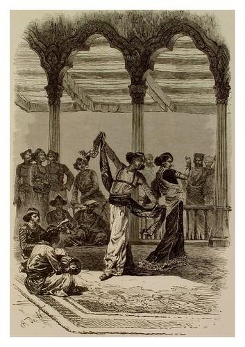 016- Bailarines-La India en palabras e imágenes 1880-1881- © Universitätsbibliothek Heidelberg