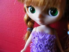 Fluff girl